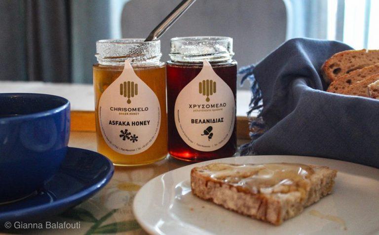 Χρυσόμελο – To σπάνιο Μέλι Ασφάκας και το θρεπτικό Μέλι Βελανιδιάς