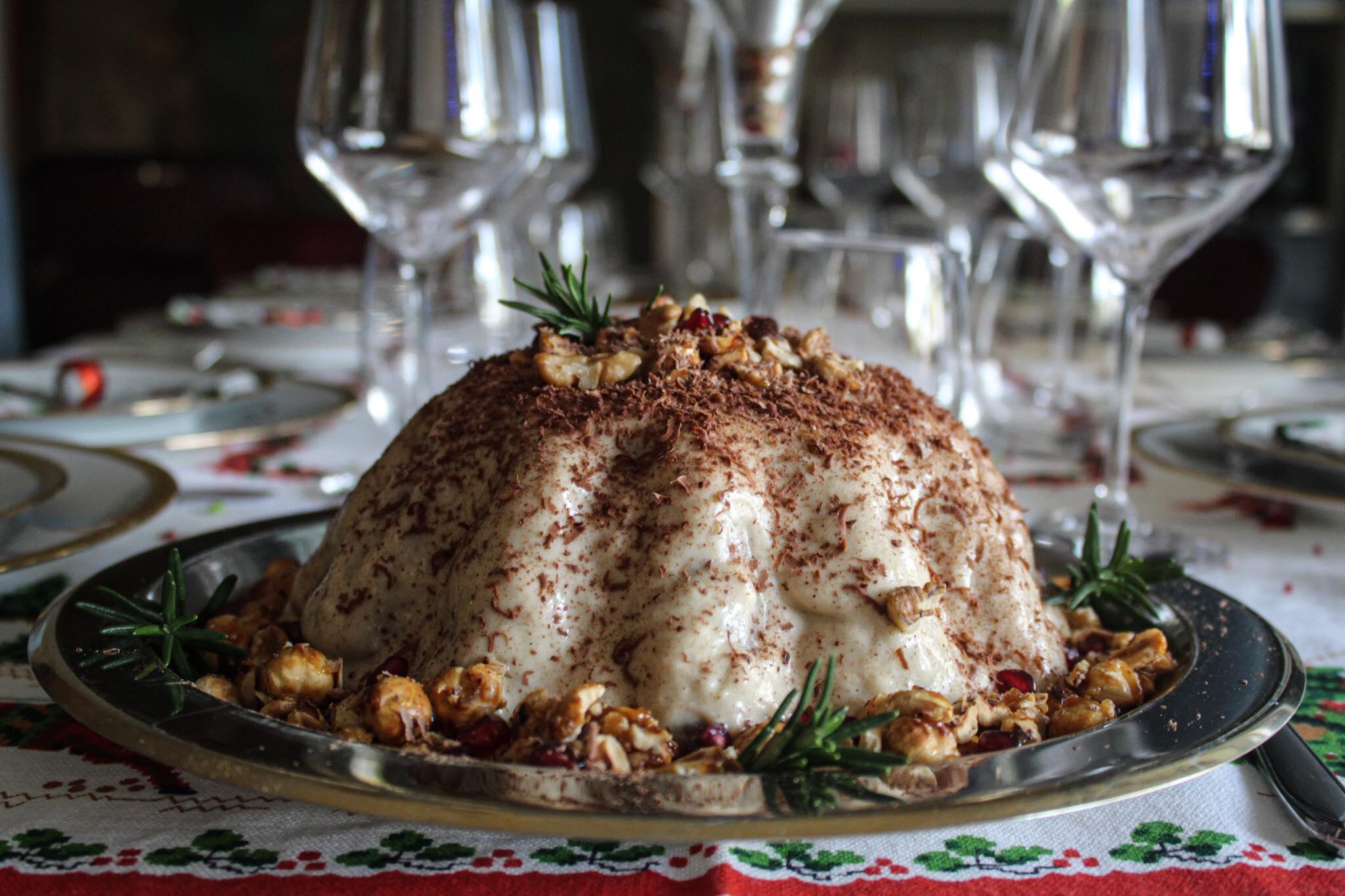 Ανδριώτικη Πουτίγκα Χριστουγέννων με συνταγή της κυρίας Χαρίκλειας